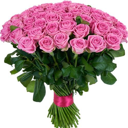 Купить на заказ Заказать Букет из 101 розовой розы с доставкой по Семей  с доставкой в Семее