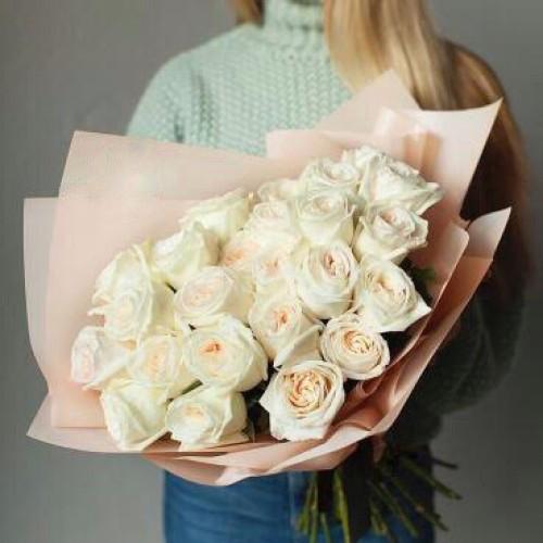 Купить на заказ Заказать Букет из 31 белой розы с доставкой по Семей  с доставкой в Семее