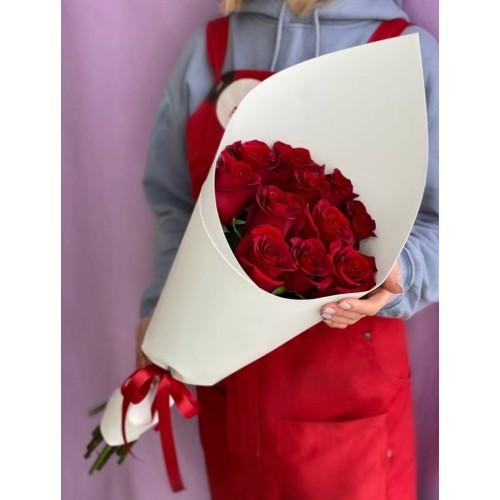 Купить на заказ Заказать 15 красных роз с доставкой по Семей  с доставкой в Семее